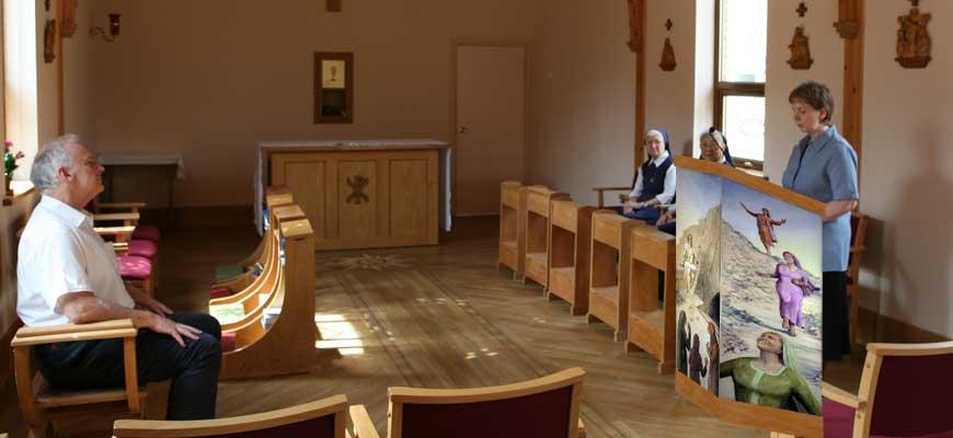 Ambo at Mater Ecclesiae convent