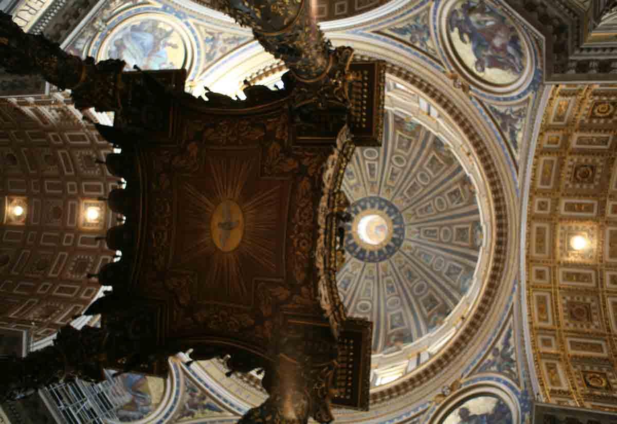 Baldachin of St Peter's Basilica, Rome